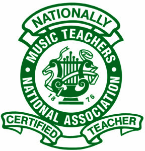 Certified piano teacher