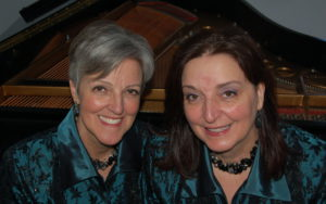 Betty Reed and Lydia Reed pianists